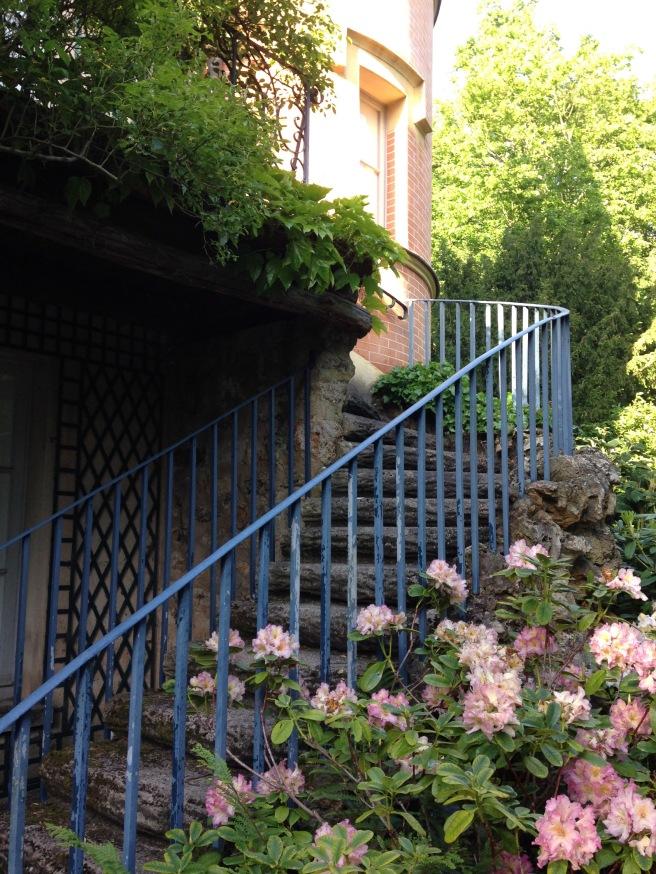 L'escalier vers la chambre de Chateaubriand